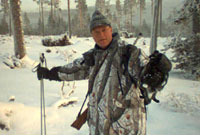 Great grouse and black grouse hunting in the winter